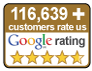Customer satisfaction - 4.8 out of 5