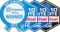 Hitwise Top Ten website