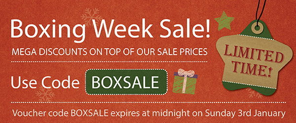 Boxing Week Sale Now On!
