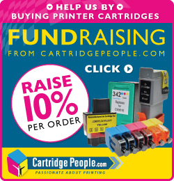 Fundraising from CartridgePeople.com