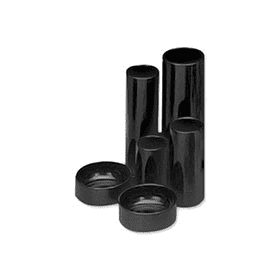 5 Star Black 6 Tube Desk Tidy