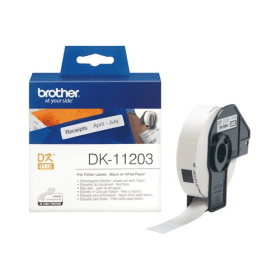 Click to view product details and reviews for Brother Dk 11203 Original 17mm X 87mm P Touch Labels X300.