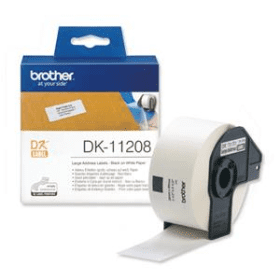 Click to view product details and reviews for Brother Dk 11208 Original 38mm X 90mm P Touch Labels X400.