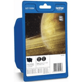 Click to view product details and reviews for Brother Lc1100bk Original Black Ink Cartridge Twinpack Lc1100bkbp2.