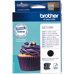 Click to view product details and reviews for Brother Lc123bk Black Ink Cartridge Original.