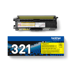 Click to view product details and reviews for Brother Tn 321y Yellow Toner Cartridge Original.