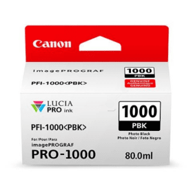 Click to view product details and reviews for Canon Pfi 1000pbk Original Photo Black Ink Cartridge.