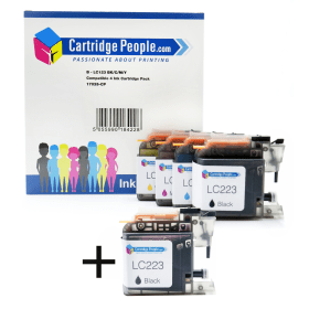 Click to view product details and reviews for Compatible Brother Lc223 Black Colour Ink Cartridge 5 Pack Own Brand.
