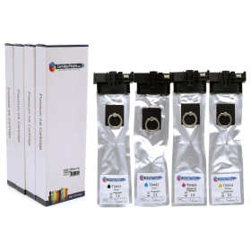 Click to view product details and reviews for Compatible Epson T944 Compatible Black And Colour Ink Cartridge 4 Pack Own Brand.