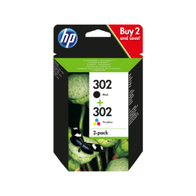 Click to view product details and reviews for Hp 302 Original Black And Colour Ink Cartridge Pack.