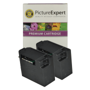 Canon BC-02 Compatible Black Ink Cartridge Twinpack