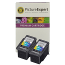 Canon CL-541XL Compatible High Capacity Colour Ink Cartridge Twinpack