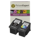 Canon PG-540 & CL-541 Compatible Black and Colour Ink Cartridge 2 Pack