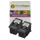 Canon PG-540 Compatible Black Ink Cartridge Twinpack