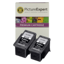 Canon PG-540XL Compatible High Capacity Black Ink Cartridge Twinpack