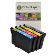 Epson T1295 (C13T12954010) Compatible High Capacity Black & Colour Ink Cartridge 4 Pack