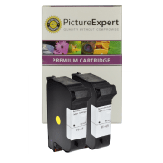 HP 45 ( 51645ae ) Compatible Black Ink Cartridge Twinpack