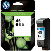 HP 45 ( 51645ae ) Original Black Ink Cartridge