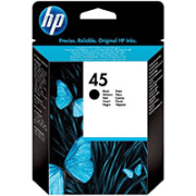 HP 45 ( 51645ge ) Original Light User Black Ink Cartridge