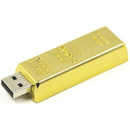 8GB Gold Bar USB Flash Drive