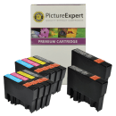 Epson T0715 Compatible Black Colour Ink Cartridge 10 Pack Special Buy