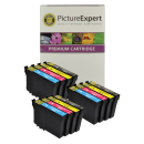 Epson T1295 Compatible Black Colour Ink Cartridge 12 Pack