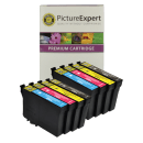 Epson T1295 Compatible High Capacity Black Colour Ink Cartridge 8 Pack