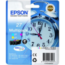 Epson T2705 27 Original Colour C M Y Ink Cartridges 3 Pack