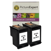 HP 301XL CH563EE Compatible High Capacity Black Ink Cartridge Twinpack
