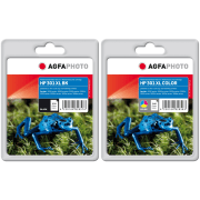HP 301XL AGFA Premium Black and Colour Ink Cartridge Pack