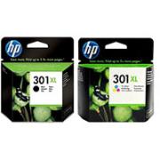 HP 301XL Original Black and Colour High Capacity Ink Cartridge Pack