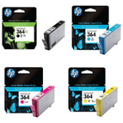 HP 364 C2P80AE Original XL Black and Standard Colour 4 Ink Cartridge Pack
