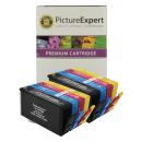 HP 364XL BK C M Y Compatible Black and Colour Ink Cartridge 8 Pack Special Buy