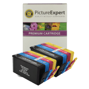 HP 364XL BK C M Y Compatible Black and Colour Ink Cartridge 8 Pack