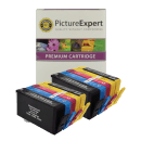 HP 364XL BK C M Y PBK Compatible Black and Colour Ink Cartridge 10 Pack Special Buy