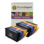 HP 364XL BK C M Y PBK Compatible Black and Colour Ink Cartridge 10 Pack