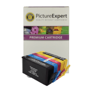 HP 364XL Compatible Black and Colour Ink Cartridge 5 Pack