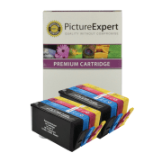 HP 364XL Compatible Black and Colour Ink Cartridge 8 Pack