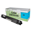 HP CE311A 126A Compatible Cyan Toner Cartridge