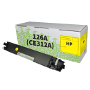 HP CE312A 126A Compatible Yellow Toner Cartridge