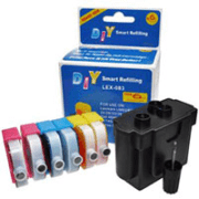 Lexmark 35 33 18C0035 18C0033 Lexmark Colour Easy Refill Kit