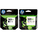 HP 301XL Original Black & Colour High Capacity Ink Cartridge Multipack