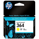 HP CB320EE (364) Original Yellow Ink Cartridge