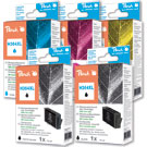HP 364XL Peach Compatible Black & Colour 5 Ink Cartridge Pack