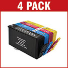 HP 364XL Compatible Black & Colour Ink Cartridge 4 Pack  SAVE £ 9.48
