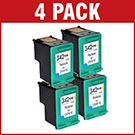 HP 342 / C9361EE Compatible Colour Ink Cartridge x 4