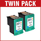 HP 342 / C9361EE Compatible Colour Ink Cartridge **Twin Pack Deal**