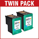 HP 343 / C8766EE Compatible Colour Ink Cartridge **Twin Pack Deal**